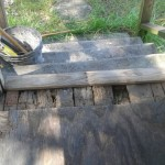Pallet Wood Porch Repair